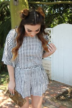 Co-ord Trend - Asos, Beaded, Bee Hair Pins, Black and White, blogger style, Boo Hoo, Bright Lip, Charlotte Russe, clutch, Co-ord, Color Block Heels, Drop Necklace, ellie connard, fashion blog, forever 21, Galvan Galvan, Gold, Gold Clutch, Jenna Mackey, KC Malhan, long hair affair, Lulus, Marie Keller, Pink Mascara, Sandal Heels, Sequin, Sondra Roberts, spring fashion, ootd, motd, urban decay, co-ord WWW.LONGHAIRAFFAIR.COMCo-cord trend