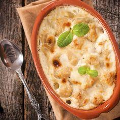Gratin de gnocchis aux 3 fromages