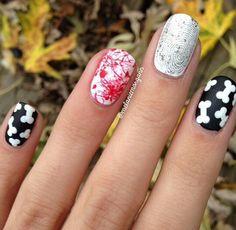 O.P.I nail art