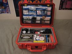 Medical Kit with Pelican Case