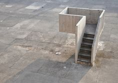nnmprv:  (via speaker's pulpit | Flickr - Photo Sharing!) pulpit of the open hand monument, chandigarh, india. architect: le corbusier. prop...