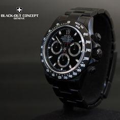 Rolex Daytona PVD noire