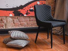 Krzesło czarne - do jadalni - kuchenne - do salonu - SOLANO