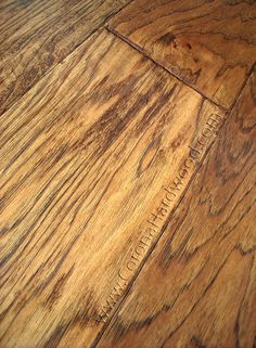 Hickory Laminate Flooring Wide Plank Knoll Creek Collection Agkh5s11 Hardwood
