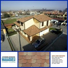 Tegola Shingle Premium Liberty with great aesthetic value. 100% from italy.  How complexity your design, tegola shingle roofing always gives 3 benefits.  * Enhance beauty. * Zero leaking with warranty. * Increase property value.  Tegola the only fashionable roof for life.  Visit www.1atap.com.my/tegola Whatsapp at 019-656 0961