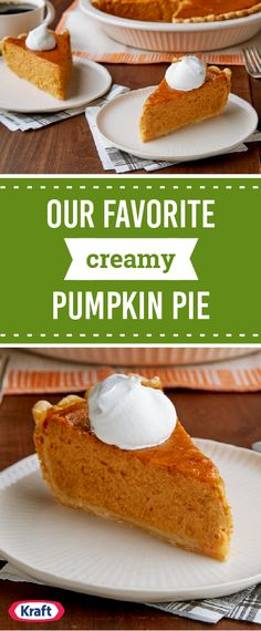 Our Favorite Creamy Pumpkin Pie – If you have canned pumpkin or fresh, cooked pumpkin, this traditional pumpkin pie recipe is the perfect place to put it—before you add the whipped cream!