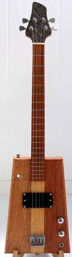 Photo: Honni Wedge Baritone/Tenor Guitar