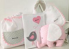 Hilos de azúcar: Una cesta para bebe en rosas...