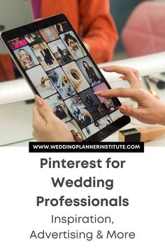 People planning a wedding on Pinterest will be searching for certain things. Capitalize on those keywords to drive traffic to your pins and then to your website. Wedding Planner, Advertising, Education, How To Plan, Wedding Planer, Onderwijs, Learning, Wedding Planners