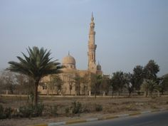 One of Saddam's private mosques located near the palaces...