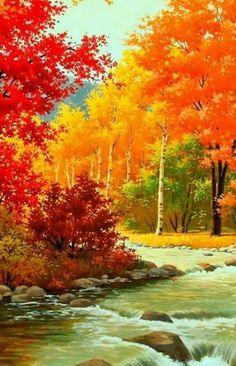 photo scenery 6399 Best Autumn Scenery images in 2019 6399 Best Autumn Scenery images in 2019 Fall Pictures, Pictures To Paint, Nature Pictures, Scenery Pictures, Beautiful Pictures, Watercolor Landscape, Landscape Art, Landscape Paintings, Landscape Design