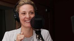 Evelyne Brochu, star of Orphan Black (Dr Delphine Cormier) and X Company (Aurora Luft) - interview with Radio Canada, Montreal