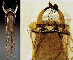 Sioux horned headdress, Vienna  ac