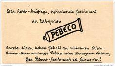 Original-Werbung/Inserat/ Anzeige 1925: PEBECO ZAHNCREME / BEIERSDORF - ca. 180 X 100 mm