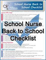 School Nurse Back to School Checklist