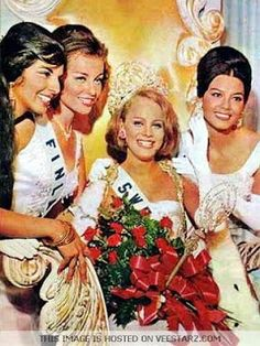 BEAUTY Incorporated: 1966 Miss Universe: Margareta Arviddson of Sweden Miss Universe Crown, From Rags To Riches, Fairest Of Them All, Beautiful Inside And Out, Miss World, Sweden, Disney Princess, Disney Characters, Celebrities