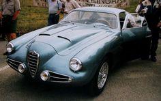 Ex Jo bonnier, Alfa Romeo 1900 Super Sprint Zagato, GP Sverige, Kristianstad, Sweden, 40-årsjubiléum, 1955-1995. Tags: swedish grand prix
