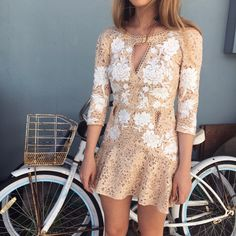 The Mallorca Embroidery Dress