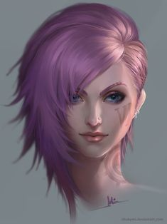VI portrait by ChubyMi.deviantart.com on @DeviantArt - More at https://pinterest.com/supergirlsart/ League of Legends #fanart #portrait #vi #leagueoflegends #lol