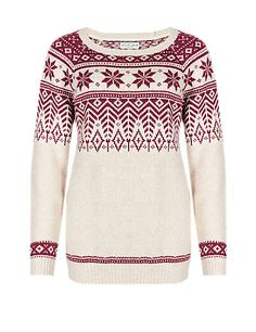 Snowflake Christmas Jumper | M&S