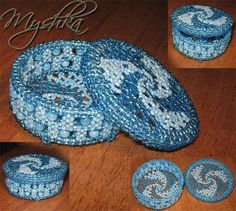 Beaded Box pattern ... tutorial