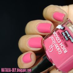 natalia-lily: Beauty Blog: GOLDEN ROSE RICH COLOR NR 63