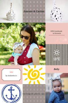 Bentite și caciulițe pentru copii, 100% handmade în România by Ambrette.ro. Comenzi pe facebook, @MadameAmbrette  #headband #baby #accessories #clothes #handmade #summer #diy