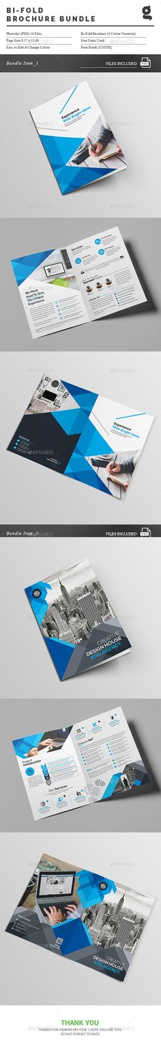 Bi-Fold Brochure Bundle_2 in 1
