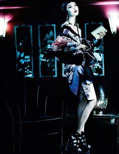 Orient Excess, British Vogue, March 2013 | Mario Testino