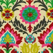 Waverly Santa Maria Desert Flower Floral Fabric {fabric for headboard}
