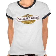 Carlsbad Caverns National Park Shirt - This New Mexico Park has 117 caves, the longest of which is over 120 miles long. The Big Room is almost 4,000 feet long, and the caves are home to over 400,000 Mexican Free-tailed BatsCapitol.http://www.zazzle.com/cdandc #nationalparks #carlsbadcaverns #newmexico #vacation #nationalpark #gifts #souvenir #shirt