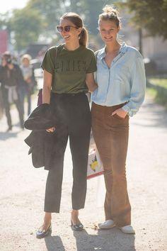 Andreea Dianconu and Constance Jablonski   - HarpersBAZAAR.com