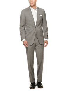 Totally would wear this - Ben Sherman Suiting Kings Shadow Stripe Suit