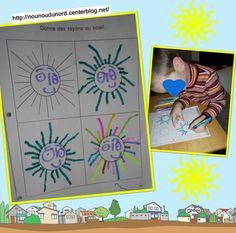 retracer les rayons du soleil http://nounoudunord.centerblog.net/3827-retracer-les-rayons-du-soleil-realise-par-gaspard-4-ans