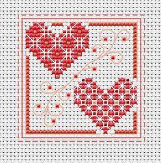 "Heart cross stitch pattern pdf ""Hearts 3 in Valentine's day cross stitch pattern. Buy 2 get 1 free. Mini Cross Stitch, Cross Stitch Heart, Cross Stitching, Cross Stitch Embroidery, Cross Stitch Designs, Cross Stitch Patterns, Chicken Scratch Embroidery, Heart With Arrow, Christmas Cross"