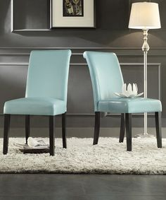 Another great find on #zulily! Sky Eldra Parson Dining Chair - Set of Two by HomeBelle #zulilyfinds