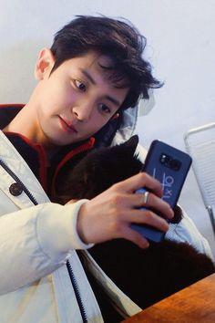 Twitter Kyungsoo, Chanyeol Cute, Park Chanyeol Exo, Baekyeol, Kpop Exo, Chanbaek, Chansoo, Exo Memes, Kdrama