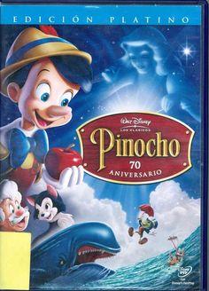 Un anciano llamado Geppetto fabrica una marioneta de madera a la que llama Pinocho, con la esperanza de que se convierta en un niño de verdad. El Hada Azul hace realidad su deseo y da vida a Pinocho, pero conserva su cuerpo de madera. Pepito Grillo, la conciencia de Pinocho, tendrá que aconsejarlo para que se aleje de las situaciones difíciles o peligrosas hasta conseguir que el muñeco se convierta en un niño de carne y hueso..