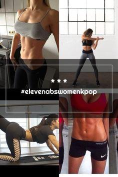 * * * #elevenabswomenkpop Abs Women, Michelle Lewin, Kpop, Bra, Sports, Fashion, Hs Sports, Moda, Fashion Styles