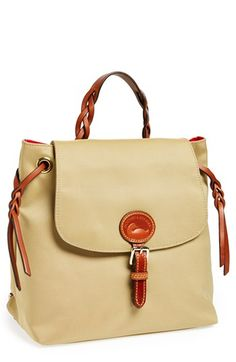 Dooney+&+Bourke+Nylon+Flap+Backpack+available+at+#Nordstrom