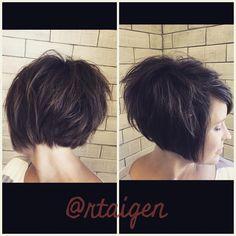 "50 Likes, 1 Comments - Rachel taigen (@rtaigen) on Instagram: ""Love this!! #hairdomesa #pixiebob #bixie #nothingbutpixies #modernsalon #lovemyjob"""