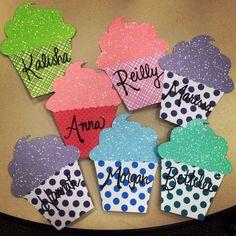 Cupcake door decs for my sweet residents! #reslife