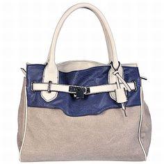 Bata handbag in blue!