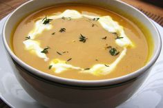 Fotorecept: Mrkvová polievka so zázvorom