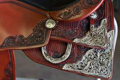 Our model C18 Robin Schoeller show performer :-) on www.continentalsaddlery.com Western saddle, reining saddle, Nrha, continentalsaddlery, NRBC, OVRHA, MWRHA,