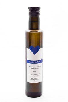 Poppy Seed Oil Whiskey Bottle, Vodka Bottle, Extra Virgin Oil, Sesame Oil, Seed Oil, Poppies, Seeds, Drinks, Drinking