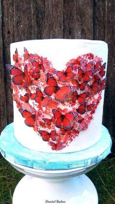 Butterfly Heart by Daniel Guiriba