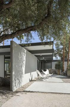 donald wexler architect / verbena drive residence, palm springs