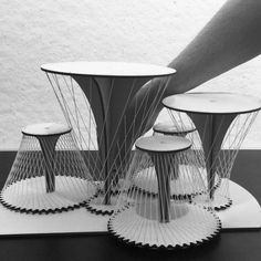 First attempt of a dynamic String Pavilion #string #gears #pavilion…