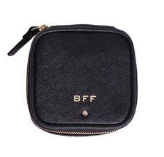 Kate Spade New York 'BFF' Small Grayden Jewelry Case, Black List Price: $98.00 Our Price: $85.00 Savings: $13.00